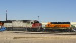CEFX 6010 and BNSF 2684