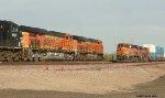 BNSF 6626, BNSF 7299 and BNSF 7413