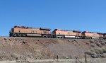 BNSF 7123, BNSF 7567 and BNSF 6171