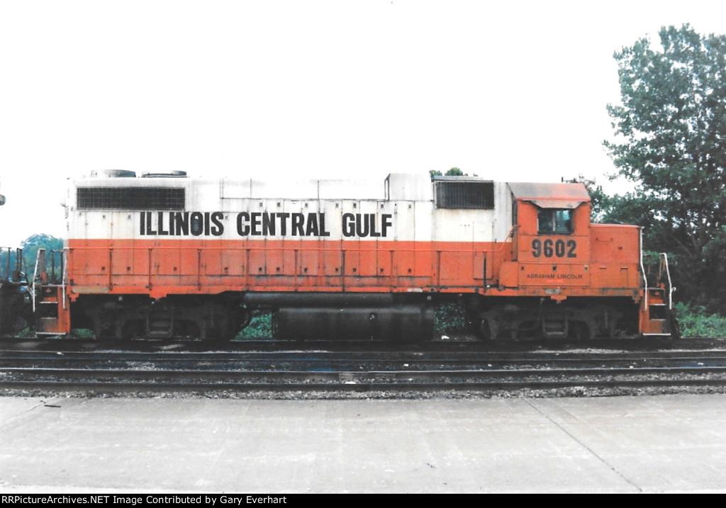 ICG 9602 - Illinois Central Gulf