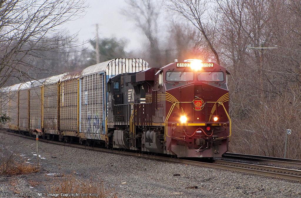 PRR Heritage 8102 Leads 18N
