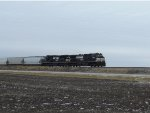 NS 32Q NB at Blue Mound IL 1-11-14.