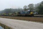 CSX 5904 on CSX W-Train