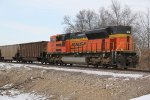 BNSF 9322 Dpu on a empty coal train.