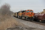 BNSF 6255 Heads up a coal load on the Main.