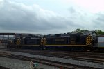 DL RS3s being dragged throughout Steamtown