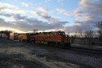 BNSF 6915 Leads a Z train up hill on the Marceline Sub.