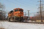 BNSF 7463 Leads a EB Q train into IL.