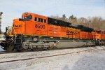 BNSF 8599 Brand new Ace.