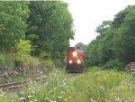 CN 2570 leads train 120