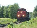 CN 9486 leads train 569