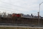 NJ Transit Arrow III Single Unit 1315 passes Morristown & Erie 18