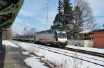 NJ Transit ALP45DP 4533 leads train 1001