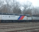 NJ Transit F40PH-2CAT 4120