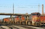 Stored BNSF C40-8's