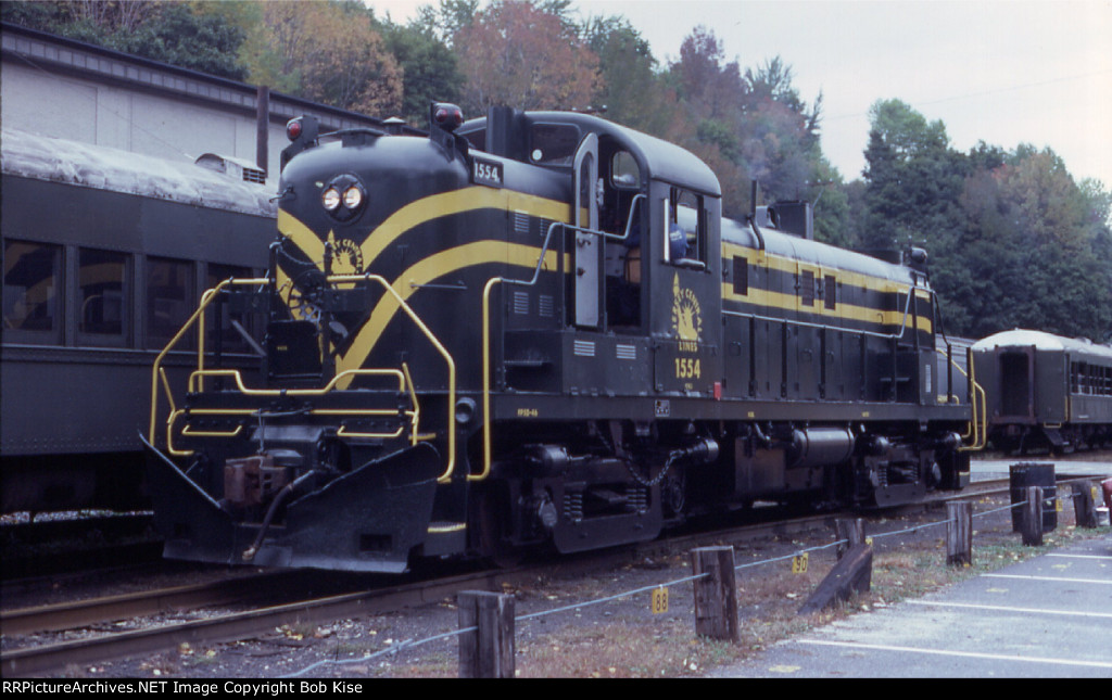 A nicely restored Alco RS3 at Jim Thorpe