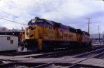 A clean Chessie SD50 at Brunswick
