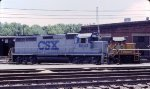 Ex-C&O units at the enginehouse
