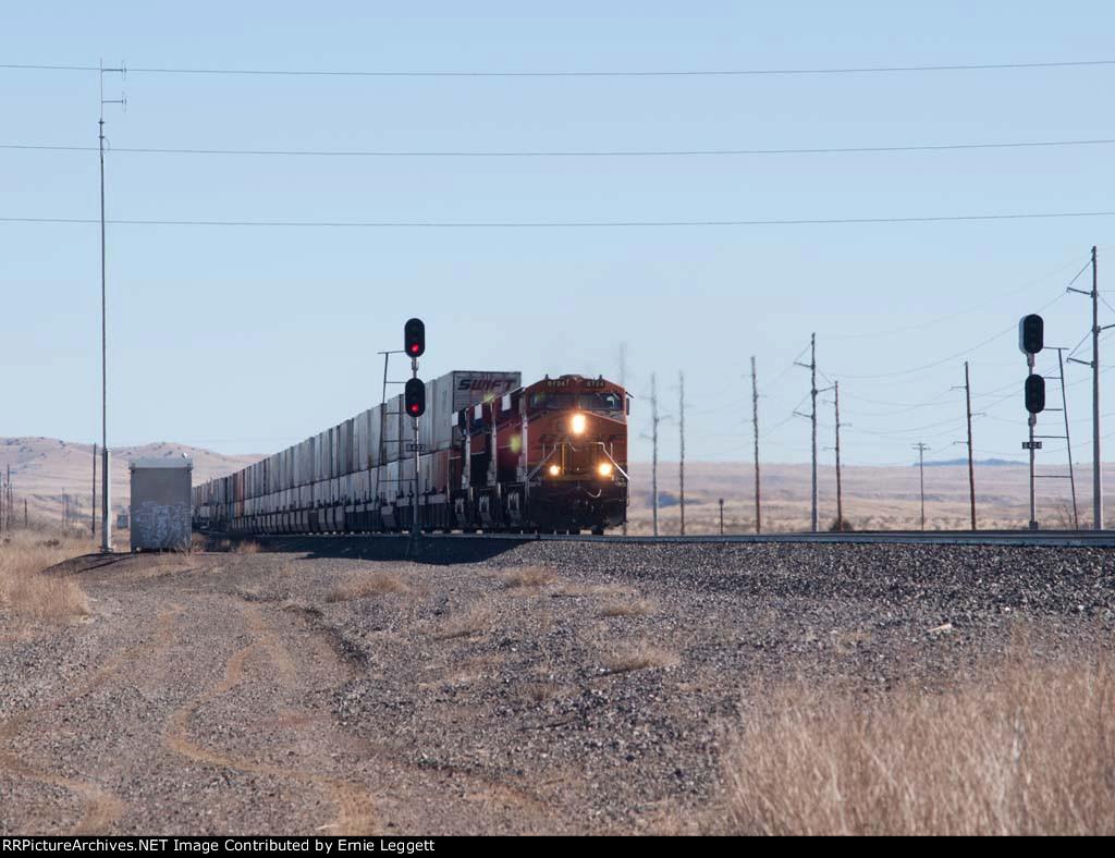 BNSF 6724