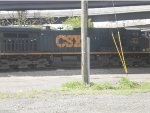 CSX CW44AC 173 in Dark Future Paint