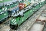 BN SD9s 6206