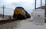 CSX 3143 and two brothers haul the coal.