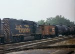 DRGW 3107 and a SP caboose
