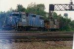 EMDX 761 & BN caboose