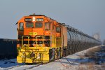 Empty oil train transfer CSX to BNSF