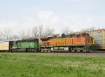 BNSF 4006 and 7837