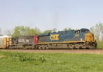 CSX 5209 and UP 9857
