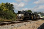 southbound intermodal with former csx  C40-8w