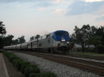 June 10, 2006 - Amtrak 186 leads train 79 the Carolinian