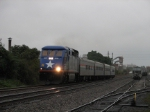 October 7, 2006 - NCDT 1797 leads Amtrak train 73