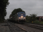 October 7, 2006 - Amtrak 156 leads train 80, the Carolinian
