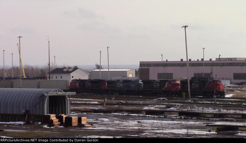 CN Train 406