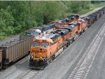 BNSF 9314 South/BNSF 6180 North