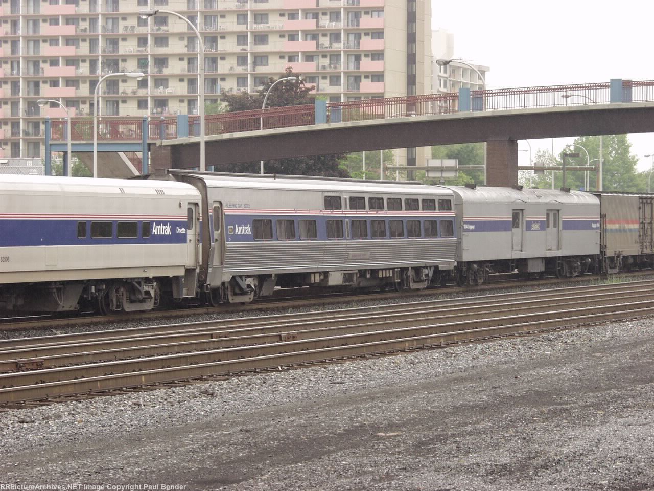 A viewliner Sleeper in the Three Rivers