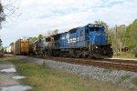 CSX 7496 on CSX K Train