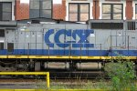 CSX 7684 with Messed Up CSX Lettering