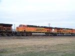 BNSF ES44DC 7581
