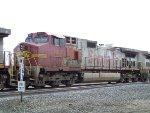 ATSF C44-9W 603