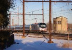 """AMTK ACS-64 #613 on """"Silver Meteor"""" No. 97"""