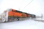 BNSF 7785 in the #2 spot crossing Attridge Rd
