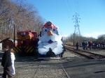 USAX 4039 posing at Santa