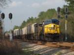 Feb 25, 2006 - CSX 5002 leads train Q189