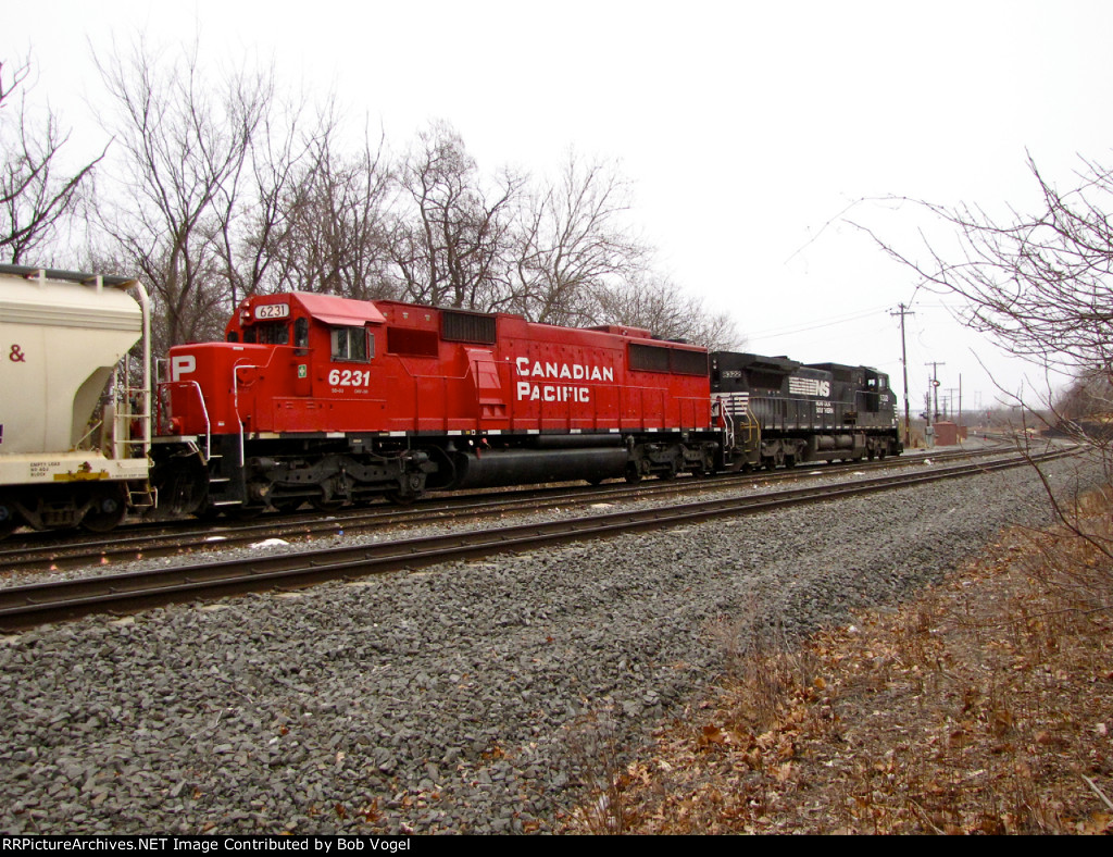 CP 6231 and NS 8322