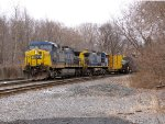 CSX 443 and 5
