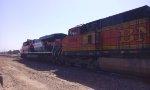 BNSF 5484 & FXE 4655