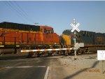 BNSF 8010 & CSX 3045